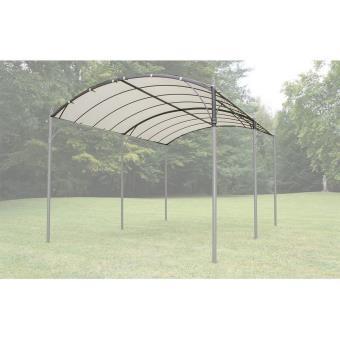 art jardin toile pour tonnelle 3x4m capri autoportante accessoires mobilier de jardin achat prix fnac