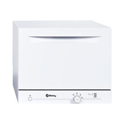 Balay 3VK301BC - Lave-vaisselle - pose libre - largeur : 55.1 cm - profondeur : 50 cm - hauteur : 45 cm - blanc