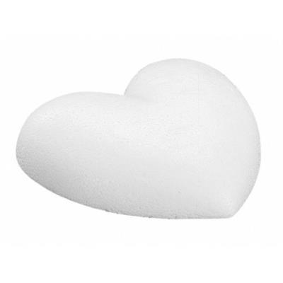 Coeur - 9 cm - Plat - Polystyrène