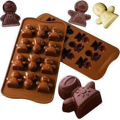 Moule en silicone - Moule à chocolat Easy Choc : Mood