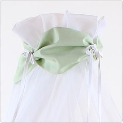 Ciel de lit vert pour lit Berceau cododo Babybay