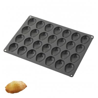 Moule silicone, 28 mini madeleines, silicopro