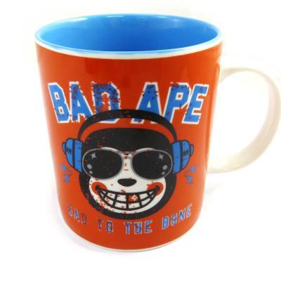 Mug céramique 'Muy Pop' orange