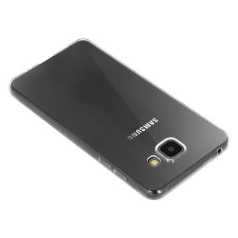 Coque pour Samsung Galaxy A3 2016 Silicone Souple Ultra-Fin Transparent