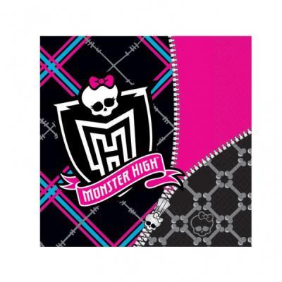 Serviettes Monster High (x20) - Décoration anniversaire