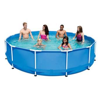 piscine tubulaire metal frame