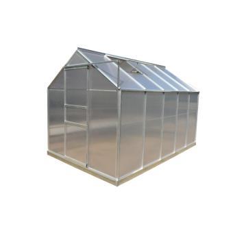 Serre de jardin aluminium 5.89 m2, Altona - Matériel pour serre et ...