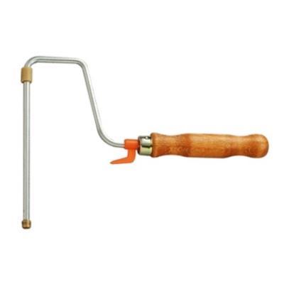 Outifrance - Monture de rouleau à vis manche bois 180 mm