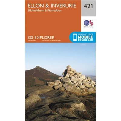 Os Explorer Map (421) Ellon And Inverurie (Map)