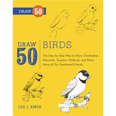 Draw 50 Birds (Paperback)