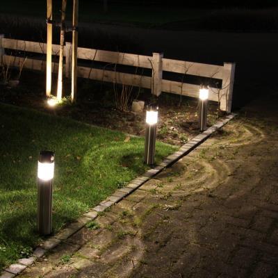 Luxbright Lampe jardin solaire lumineuse Amiens avec Capteur mouvement