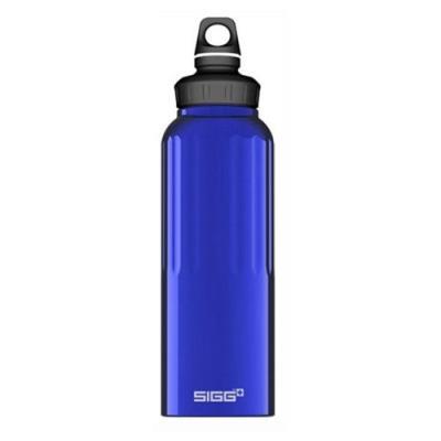 Sigg Wide Mouth Bottle Traveller Gourde Bleu Foncé 1,5 L