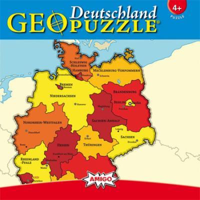 Gigamic - Geo Puzzle Deutschland