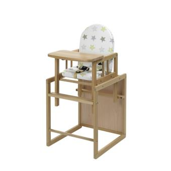 Chaise Bureau Haute Nico Étoile Naturel Geuther Lj3AR4q5