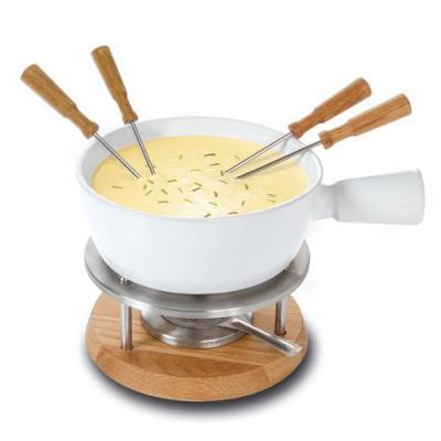Ensemble fondue au fromage Boska Bianco 1 L