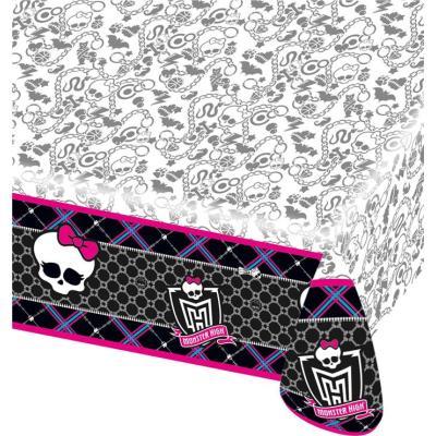 Nappe plastique Monster High - Décoration anniversaire
