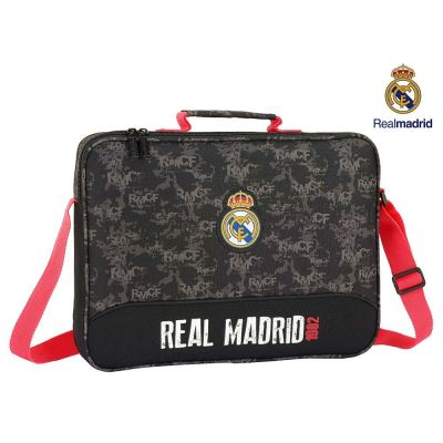 Real Madrid Black Cartable extrascolaire 38x28x6