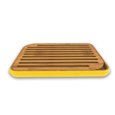 Pebbly nba024 planche à pain jaune