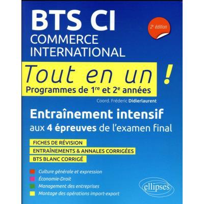Bts Commerce International Tout En Un 2E Edition Programmes De 1Re Et 2E Annees