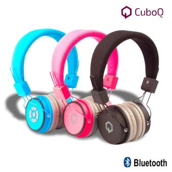 casque audio et micro sans fil bluetooth cuboq bleu casque filaire achat prix fnac. Black Bedroom Furniture Sets. Home Design Ideas