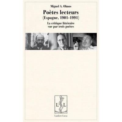 Poètes Lecteurs , Espagne 1901-1991