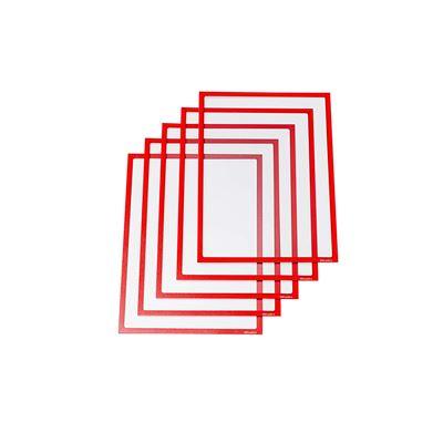 UltraDEX Dentifrice magnétique 889005 Objet pour DIN A4 Lot de 5 x 225 mm, rouge