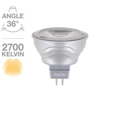 Ampoule Spot 345 lumens GU5.3 6.5W équivalent à 35W