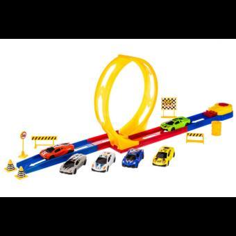 Circuit Jouets Looping Avec 10 Enfants Voitures H9Y2EWDI