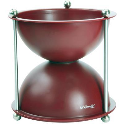 Crachoir à vin 1 litres ABS Rouge - ACI-MCV503
