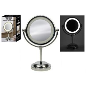 miroir make up avec 9 leds rond sur pied achat prix fnac. Black Bedroom Furniture Sets. Home Design Ideas