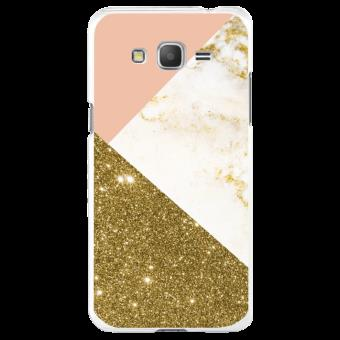 coque rose or samsung j3