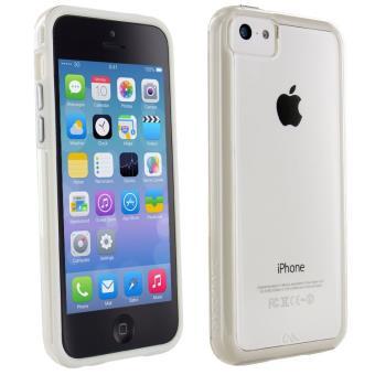 Coque Iphone 5c Silicone transparent q Edition luxe