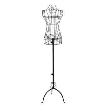 Buste de couture hauteur r glable mannequin femme porte v tement noir 3512002 achat prix fnac - Mannequin couture maison du monde ...