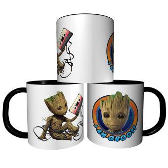 Mug Je Suis Pas Je S/'appelle Groot Gardiens Galaxie Tasse Prénom Personnalisable