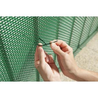 INTERMAS - Brise-vue plastique vert 85% occultant 1,2 x 5 m TRIONET ...