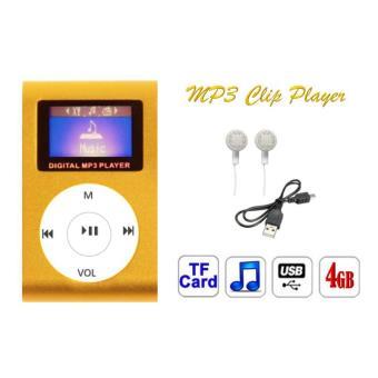kowi mini clip en m tal mp3 player 4 gb avec cran lcd. Black Bedroom Furniture Sets. Home Design Ideas