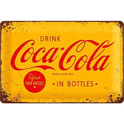 Plaque métal Coca-Cola