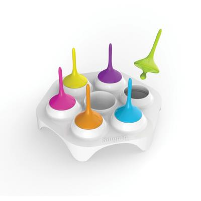 Silicone zone - sillypop moule pour 6 mini glaces maison