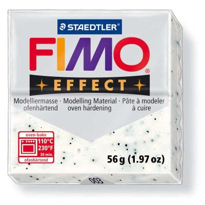 dtm loisirs creatifs - fimo soft 56g blanc marbre 003