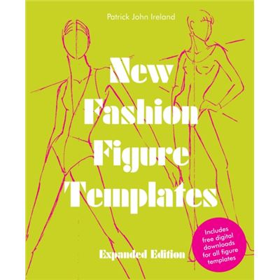 New Fashion Figure Templates (Paperback)