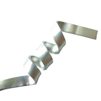 Fil aluminium plat 5 x 1 mm - 4 mètres - Argent