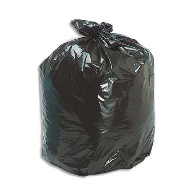 Boîte de 200 Sacs-poubelle, 110 litres, noir, 45 microns