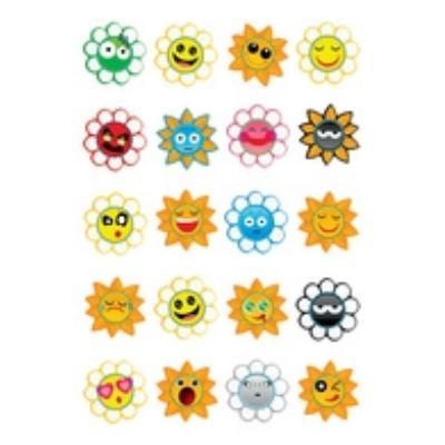 Herma sticker magic crazy suns, puffy 3668