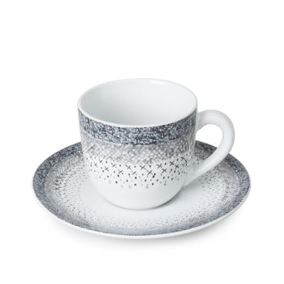 Table Passion - Tasse / Sous Tasse Caf㉠Stella (Lot De 6)