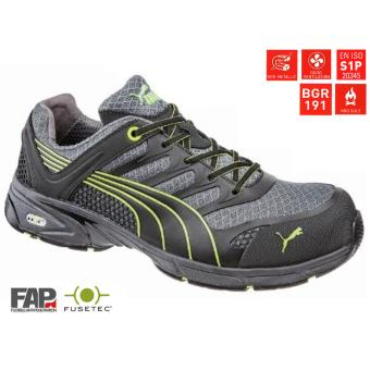 a56c4f5db124e Chaussures de sécurité basses fuse motion green taille 39 puma ...