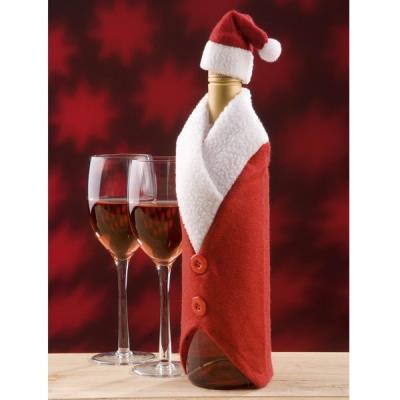 Couvre bouteille Père Noel