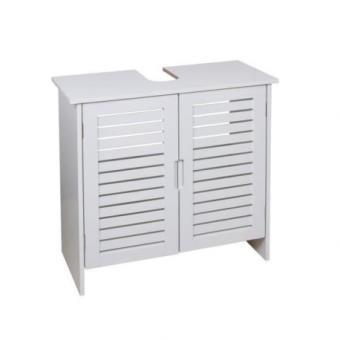 linda meuble sous lavabo 60 cm blanc installations salles de bain achat prix fnac