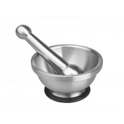 IBILI - Ustensiles et accessoires de cuisine - mortier inox 19 x 12 cm ( 722600-1 )
