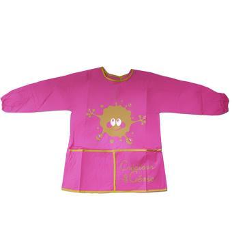 Tablier enfant manches longues id al cuisine et peinture rose achat prix fnac - Cuisine etroite et longue ...