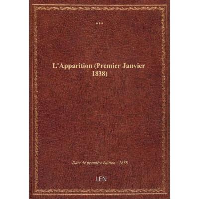 L'Apparition (Premier Janvier 1838)